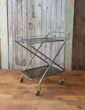 Vintage folding drinks trolley - SOLD